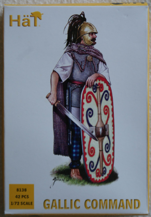 HaT 1/72 HAT8138 Gallic Command (Ancients)